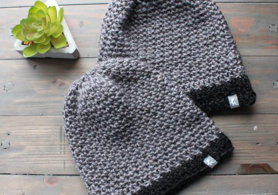 Bryce Set: Mom & Toddler Toques