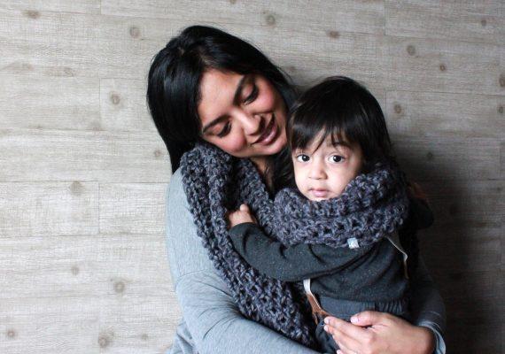 Kayden Set: Momma Scoof & Toddler Cowl